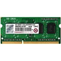 Transcend TS256MSK64V3N Memoria 2 GB DDR3 SO-DIMM 204-pin, Nero