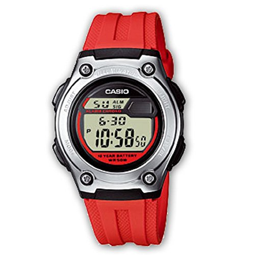 Casio Collection Unisex-Armbanduhr W-211-4AVES (Frauen Casio Sport)
