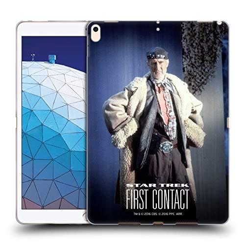 Head Case Designs Offizielle Star Trek Volles Kostüm Zefram Cochrane Der Erste Kontakt TNG Soft Gel Huelle kompatibel mit iPad Air - Apple Ipad Kostüm