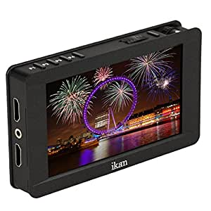 ikan DH5e 5-Inch 4K Support HDMI On-Camera Field Monitor with Touch Screen - Black