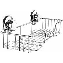 ARCCI - Mensola a cestino per doccia in acciaio INOX,
