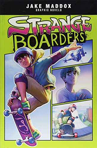 Jake Maddox Graphic Novels Strange Boards por Brandon Terrell