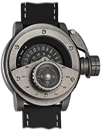 Retrowerk Diver watch with compass-Swiss-Ronda movement R004