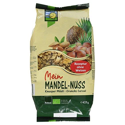 Bohlsener MÜHLE Bio Mandel-Nuss Knusper Müsli, 425 g