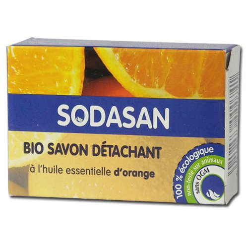 Sodasan - Savon détachant Bio à l'huile essentielle d'orange
