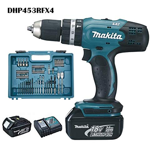 Makita DHP453RFX4 Perceuse visseuse à percussion...