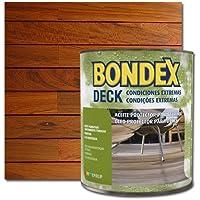 Bondex Deck: Aceite terrazas y tarimas Color Teca 0.75 L.