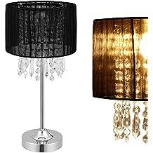 [lux.pro] Lampada da tavolo - Bellevue - (1 x E14 Sockel)(55 cm x Ø 20 cm) lampada da tavolo lampada da comodino lampada da scrittoio