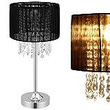 [lux.pro] Tischleuchte - Bellevue - (1 x E14 Sockel)(55 cm x Ø 20 cm) Tischlampe Nachttischlampe Schreibtischlampe