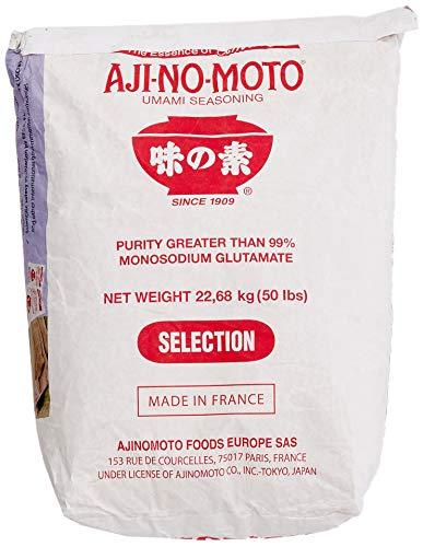 AJI-NO-MOTO Mononatriumglutamat (E621), 1er Pack (1 x 22.68 kg)