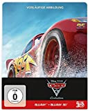 Cars 3: Evolution Steelbook (3D BD+2D BD+Bonusdisc) [3 DVDs] [Blu-ray] -