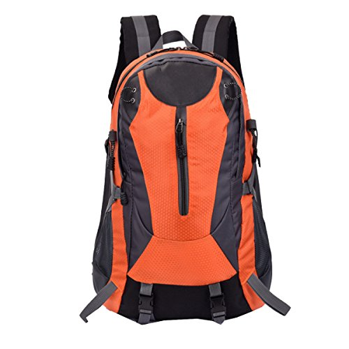 Borsa A Tracolla Xin.S Viaggio Studentesco Borsa Da Montagna Trekking Da 30L Viaggio Zaino All'aperto Impermeabile. Multicolore Orange