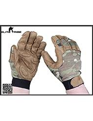 caza guantes de combate dedo completa guantes tácticos ligero MC (M)