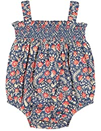 Masala Baby Little Girl's Pop One Piece Blue Jasmine