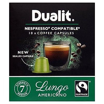 Dualit Lungo Nespresso Compatible NX Coffee Capsules 10 per pack