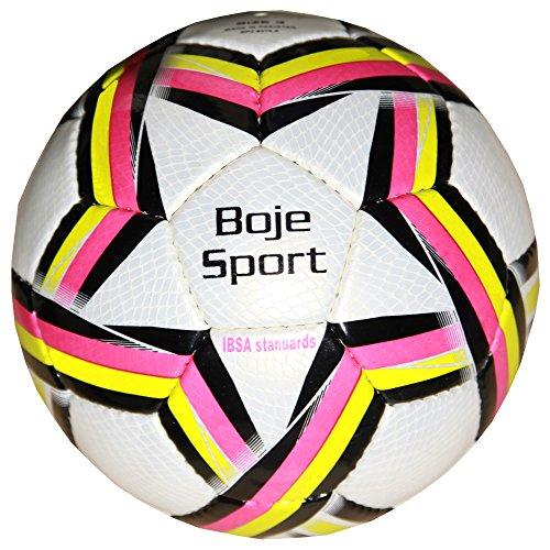 Futsal mit Glocken / Soundfutsal / Akkustik Match1 / IBSA Standard, magenta, Blinden- und Sehbehindertenball der Spitzenqualität