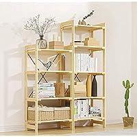 Studentenwohnheim Bett Bücherreg 40 * 60cm XQY Home Schlafzimmer Bücherregal Bücherregale runde Tabelle Massivholz Moderne und einfache kleine Couchtisch Mode Umweltschutz Praktischer runder Tisch