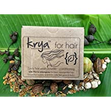 Krya Conditioning Herbal Shampoo Powder Made From 24 Rich Ayurvedic Herbs for Dry, Rough, Easily Tangled Hair with Split Ends (100gm)