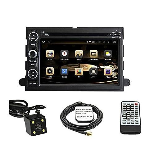 tltek 17,8cm HD 1024* 600écran muti-touch Système navigation GPS pour