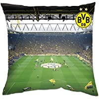 Borussia Dortmund BVB Kissen Südtribüne Polyester Mehrfarbig 40 x 40 x 5 cm