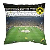 Borussia Dortmund BVB Kissen Südtribüne, Polyester, Mehrfarbig, 40 x 40 x 5 cm