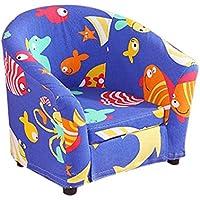 Preisvergleich für ALUK- small stool Kleines Sofa für Kinder Schlichter moderner Sitz Kindersitz Lesehocker Komplettes Set aus waschbarem Stoff Bunte Farbe Bequemes, Leichtes Mini-Sofa
