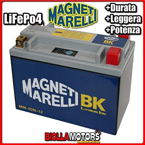 MM-ION-12 BATTERIA LITIO MAGNETI MARELLI YTX20L-BS LiFePo4 YTX20LBS MOTO SCOOTER QUAD CROSS