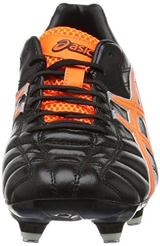 Asics Herren Lethal Tigreor 7 K St Fußballschuhe Schwarz (Black 9030)