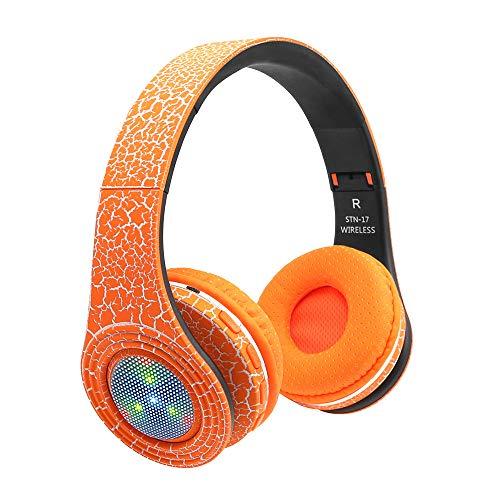 fhörer Bluetooth 4.1 Headset-Rauschunterdrückung über Ohr mit Mikrofon ()