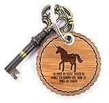 Mr. & Mrs. Panda Rundwelle Schlüsselanhänger Einhorn - Einhorn, Pferd, Pony, Feen, Sterne, Zaubern, Zauberwald, Horn, Sternchen Schlüsselanhänger, Anhänger, Taschenanhänger, Glücksbringer, Schlüsselband