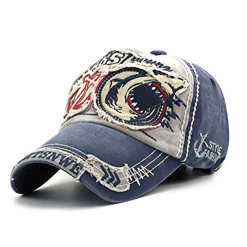 Klassischer Patch-Baseball-Kappe für Damen und Herren, Mode Casual Hut,Gray