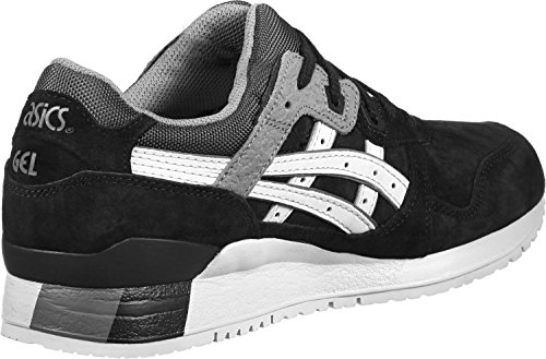 Asics Gel Lyte III Black/Soft Grey HL6B19010, Turnschuhe Noir