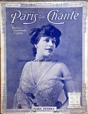 PARIS QUI CHANTE [No 129] du 09/07/1905 - MARY