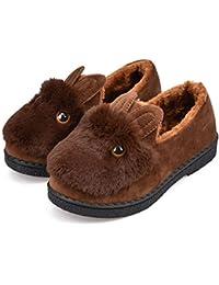 Cómodo Zapatillas de algodón de invierno Mujer bolsa de fondo grueso con zapatos de mes cálido 7 color opcional Tamaño opcional Aumentado ( Color : F , Tamaño : 36 )