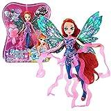 World of Winx - Dreamix Fairy Puppe - Fee Bloom magisches Gewand