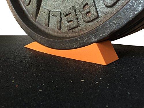 The Dead Wedge–Deadlift Jack Alternative für Ihre Sporttasche–hebt Langhanteln mit Gewichten und Hantelscheiben an für einfaches Auf- und Abladen Perfekt für Powerlifting, Gewichtheben, Crossfit, Home Gym & Kreuzheben.