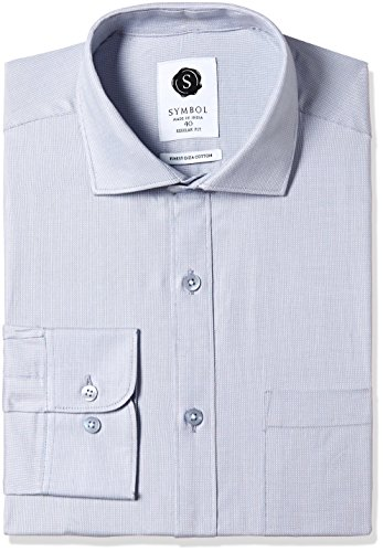 Symbol Men's Formal Premium Dobby Regular Fit Shirt