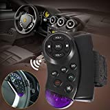 EisEyen - Telecomando Universale per Volante, per GPS, Auto, CD, Dvd, TV, Lettore MP3