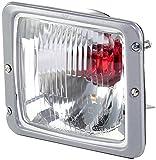 HELLA 1AB 001 100-001 asymmetrisch Hauptscheinwerfer, Links oder Rechts, Ohne Kurvenlicht