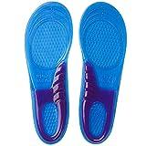 SOUMIT Sport Weiches Silikon Einlegesohlen (Schuhgröße: L 44/51 EU, Länge: 30,7CM) | Ideal für Alltag, Beruf & Running und Schützt Ihre Füße auf harten Oberflächen