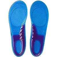 SOUMIT Sport Einlegesohlen | Weiches Silikon Gelkissen Schneidbare Schuheinlagen für Stoßdämpfung und Schmerzlinderung, Herren & Damen (M EU37-45, Länge: 27,3CM)