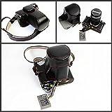 M5Mark II Kamera Tasche, zakao PU Fullbody Unterseite Version Schutzhülle Leder Kamera Tasche für Olympus OM-D E-M5Mark II 12–40mm Oder 40–150mm Objektiv mit Schultergurt
