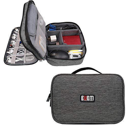 BUBM-Double-Layers-Travel-Gadget-Organiser-Case-Electronics-Accessories-Bag