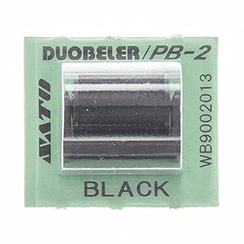 AVERY Zweckform 02161 Ersatz-Farbroller für Duo 20, schwarz (1 Stück)