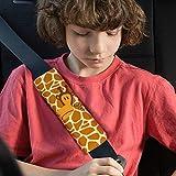 Luchild Almohadillas de cinturón de seguridad 2 pack Niños Pequeños Almohada de seguridad para el bebé Asiento de coche Almohadilla Proteger Hombro