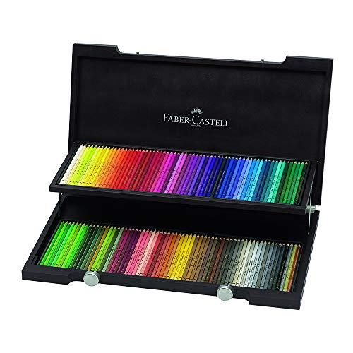 Faber Castell 110013 Holzkoffer Polychromos Farbstiften