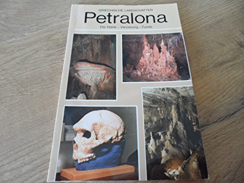 Griechische Landschaften / Petralona Die Höhle- Verzierungen - Funde