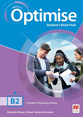 Optimise B2 Student's Book Pack por Malcolm Mann