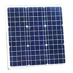 PK Green 40W 12V Pannello Solare monocristallino
