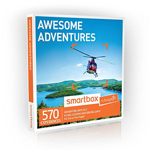 02c3f3db639e Buyagift Awesome Adventures Gift Experience - 570 adrenaline pounding  experiences spread around the UK